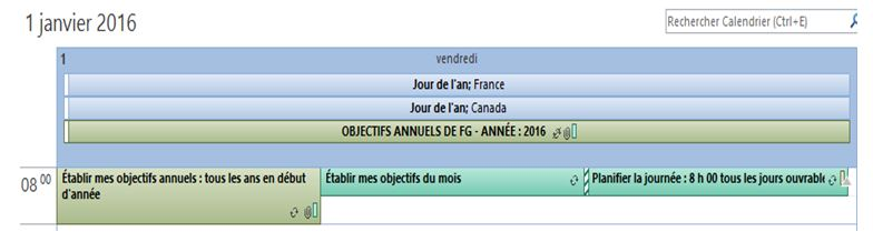 Formation Outlook François Gamonnet