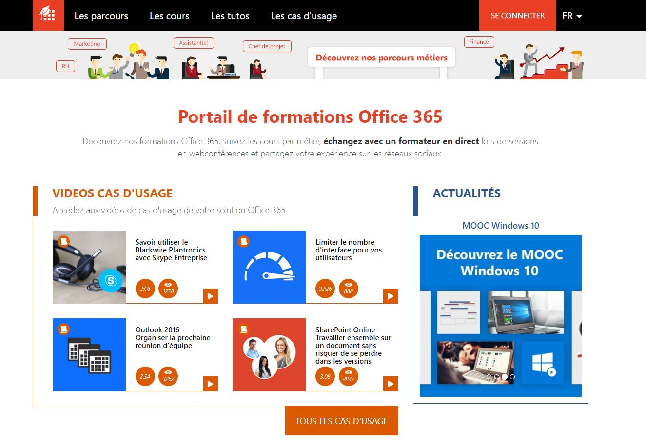 Portail formations Mandarine Academy